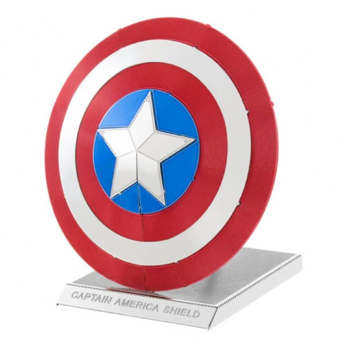 Marvel Avengers Metal Earth Captain America's Shield | Buy now at The G33Kery - UK Stock - Fast Delivery